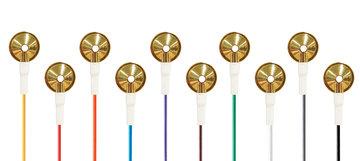 EEG Cupelectroden, Goud