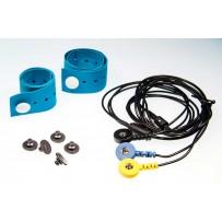 Electroden voor EMG, ECG en GSR meting