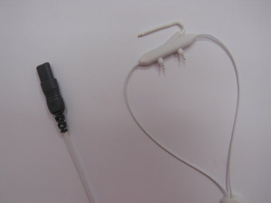 Airflow Thermocouple Pediatric, 78in/200cm, Key Connector
