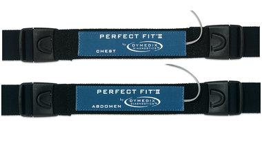 Perfect Fit II Adult Effort Belt Kit: 2 Sensors, 2-ea 45