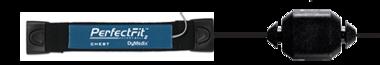 Perfect Fit II Adult Effort Belt, Sensor & 45