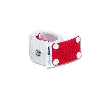 Multiple use Inductive Plethysmography Band - Medium (2/Pack)-White