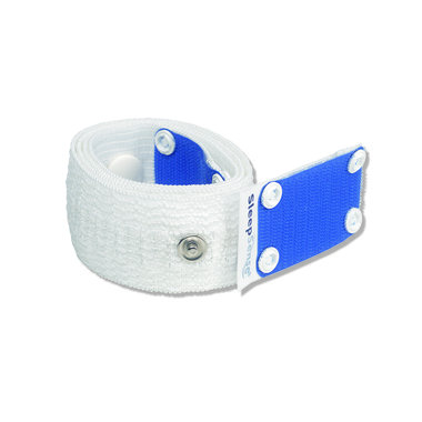 Multiple use Inductive Plethysmography Band - Large (2/Pack)-White