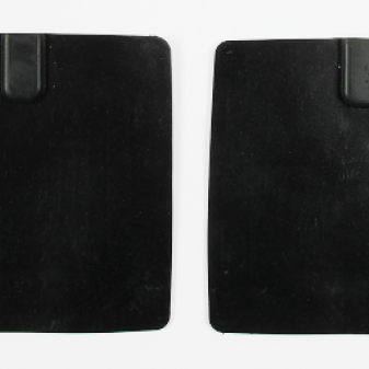 Rubber electrodes for TDCS, 10x10 cm