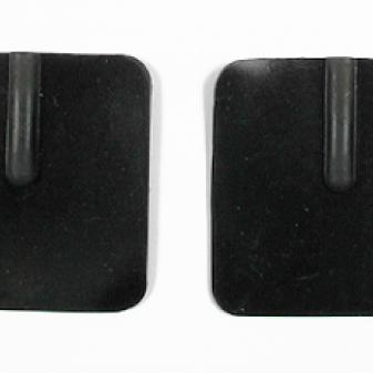TDCS Rubber Electrodes, 5x5cm