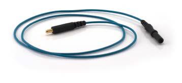 Cable for detachable monopolar EMG needle electrode