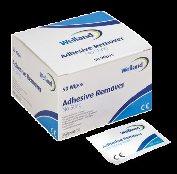 Adhesive Remover Wipes, No Sting