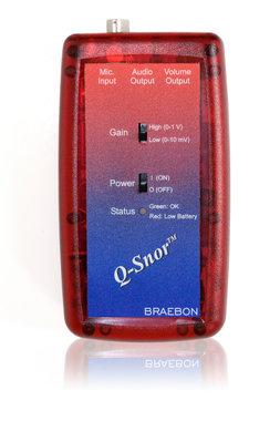 Q-Snor  Kit (includes Model 0544 Interface and Model 0545 Microphone)