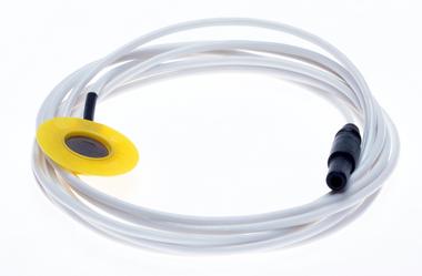 Gesinterde AgCl oppervlakte electrode, 10mm