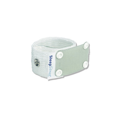 Multiple use Inductive Plethysmography Band - Small (2/Pack)-White