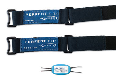 Perfect Fit Pediatric Effort Belt Kit: 2 sensors, 2 ea-15