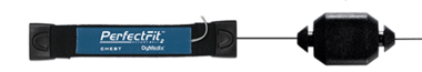 Perfect Fit II Adult Effort Belt, Sensor & 45