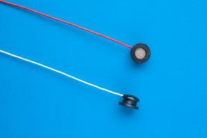 Gesinterde AgCl electrode, 6mm sensor