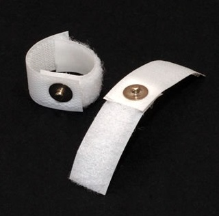 Velcro finger gSR/EDA electrode