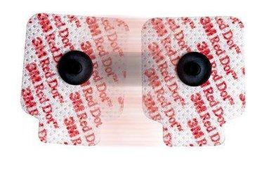 3M Red Dot Elektrode linnen basis klevende geleidingsgel, 2660-5