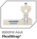 Nonin adult flexiwrap for 8000J sensor, 25/pkg