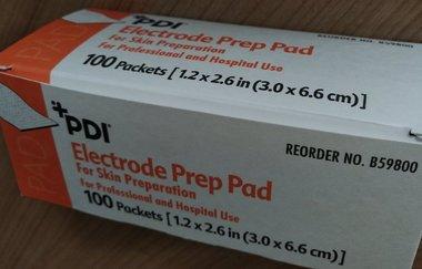 Prep Pad, Alcohol & Pumice, 100/pkg