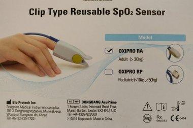 OXI Pro RA SPO2 Sensor, Nellcor compatible, ,vinger clip