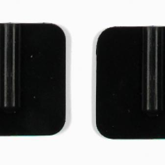 Rubber Electrodes, 3 x 3 cm