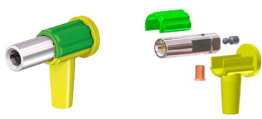 Angle Socket for Isopotential Cable