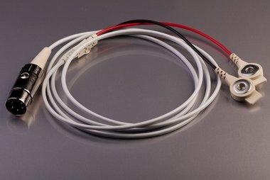 Kabel, 5 polig din naar 2 x Snap, 120cm