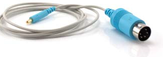 Shielded Cable for detachable monopolar EMG needle electrode